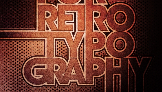 Love for Retro Typography