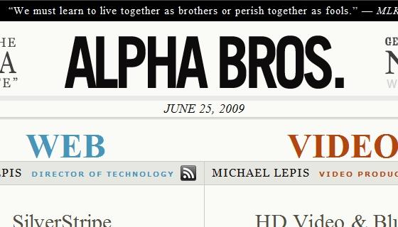 Alpha Bros Blog