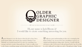 Older Graphic Designer