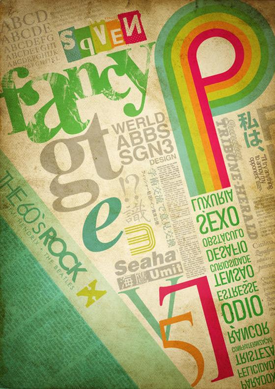 Typography by Fabianohikaru