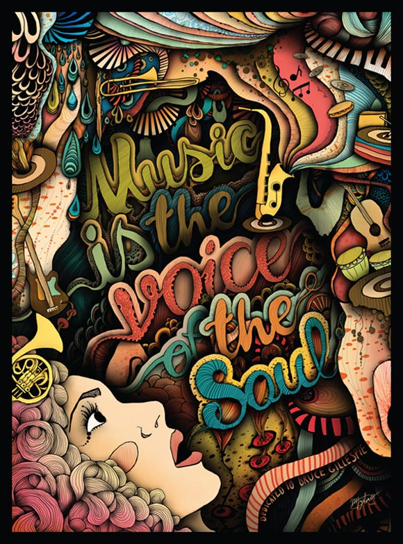 Bruce G. Poster by Madison Zyluk