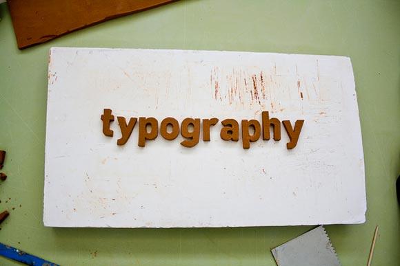 Ceramic Typography