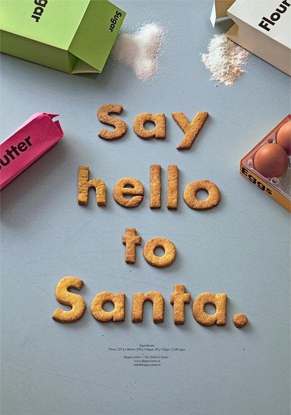 Say Hello To Santa. by Happycentro