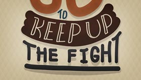 Keep Up What Fight by  Eugeniaclara