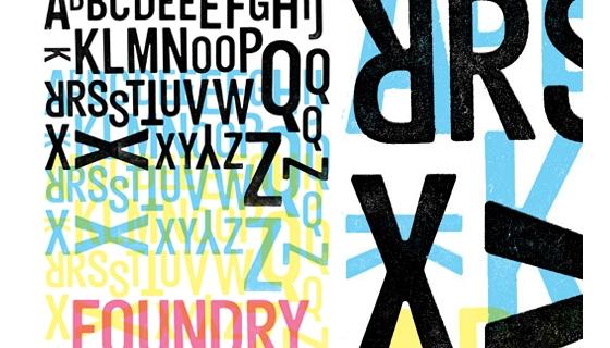 Foundry Typeface