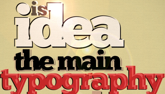 The Main Typography Tool