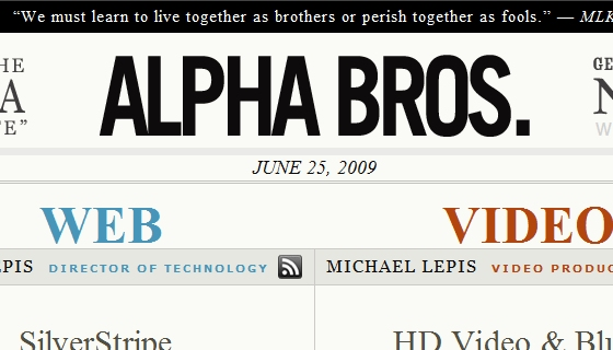 Alpha Bros Blog