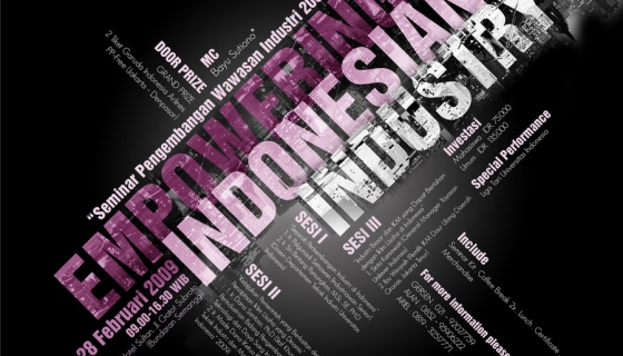Empowering Indonesia Poster