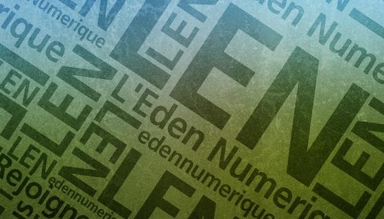 Wallpaper L'Eden Numerique
