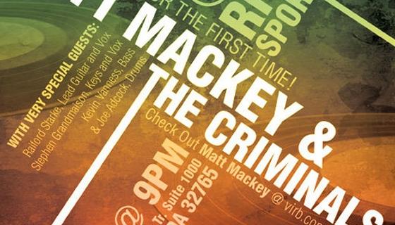 Matt Mackey Poster