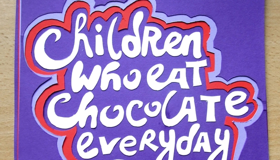 Children Who Eat Chocolate