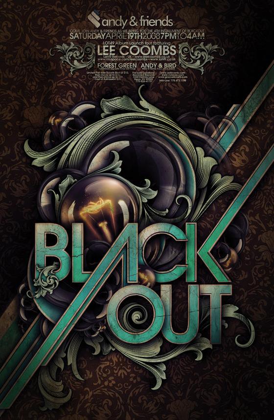 Blackout Poster by Demen1