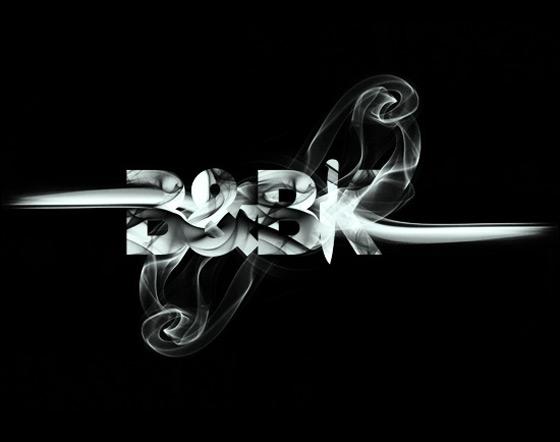 Smoke + Type by Daniel Gordon