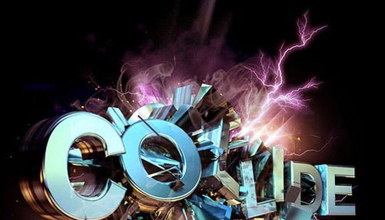 Explosive Typographic Effects in Cinema 4D