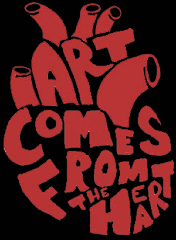 Art Comes from the Heart by CrypticKryptonite
