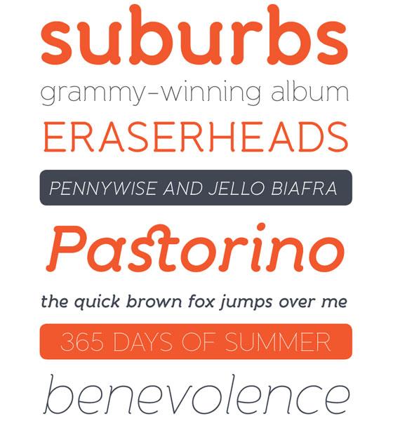 Banda typeface