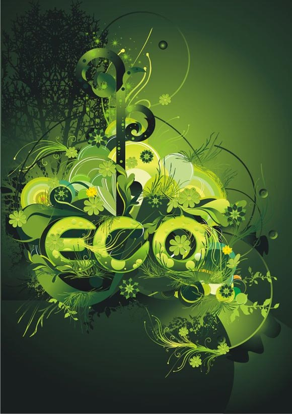 Eco Environment by Dronograph