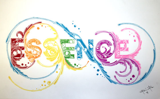 Essence Typography by BrianRusDesign