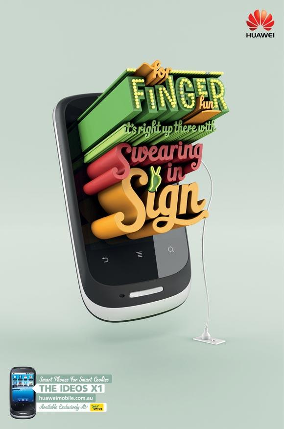 Huawei Ideos X1: Finger Fun