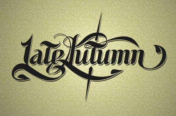 LateAutumn Typography
