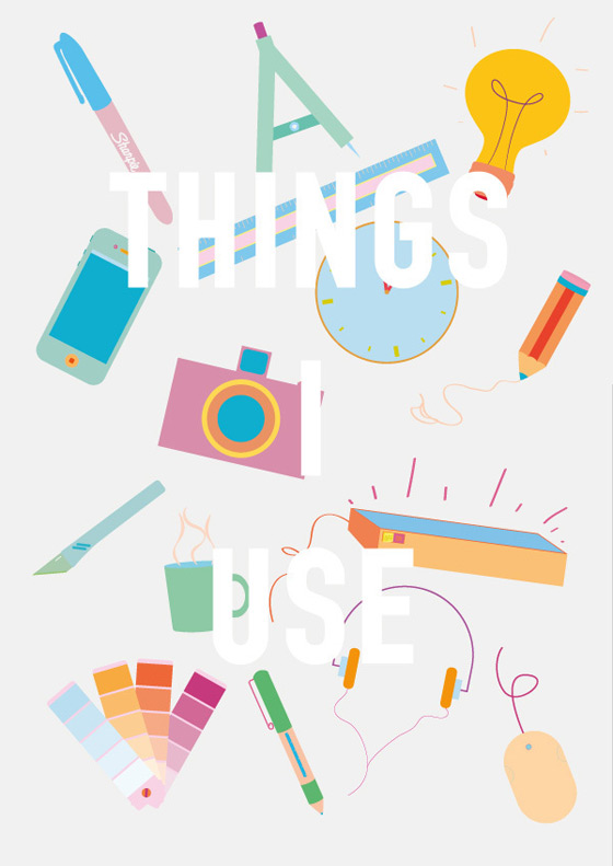 Things I use by James Oconnell