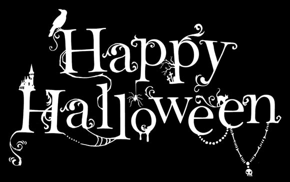 Happy Halloween By Kate Forrester Typeinspire
