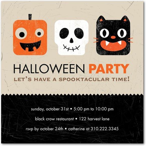 halloween invitation typeinspire